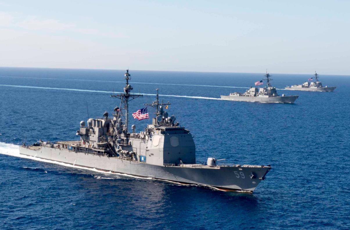 """筹建""""海军特遣队"""" 美国正走回冷战老路?"""