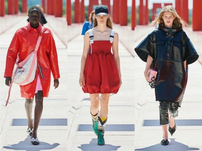 路易威登时尚大秀  被鞋子种草了!