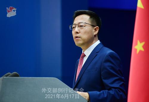 美国务卿再就病毒溯源抹黑中国 赵立坚连发六问回击