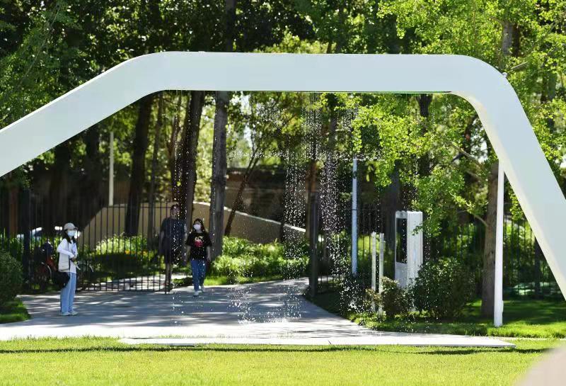 海淀新建4处城市公园开放迎客