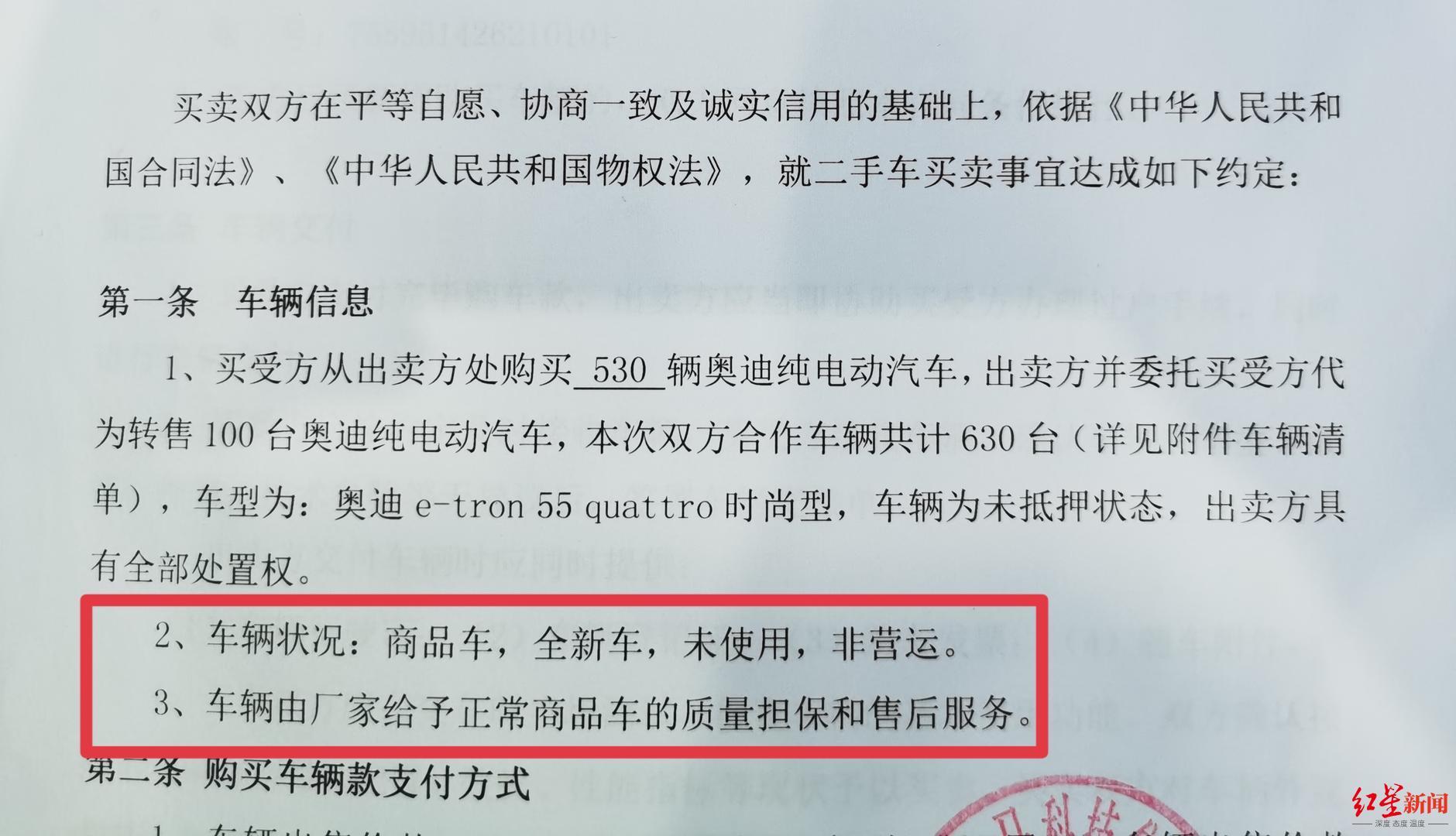 """""""易车时代""""张姓负责人提供的与四川千禧神马科技的合同约定"""