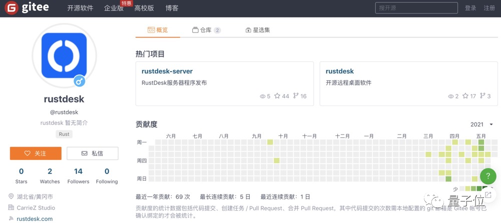 中国程序员开发的远程桌面RustDesk:多平台可用 大小只有9MB的照片 - 6
