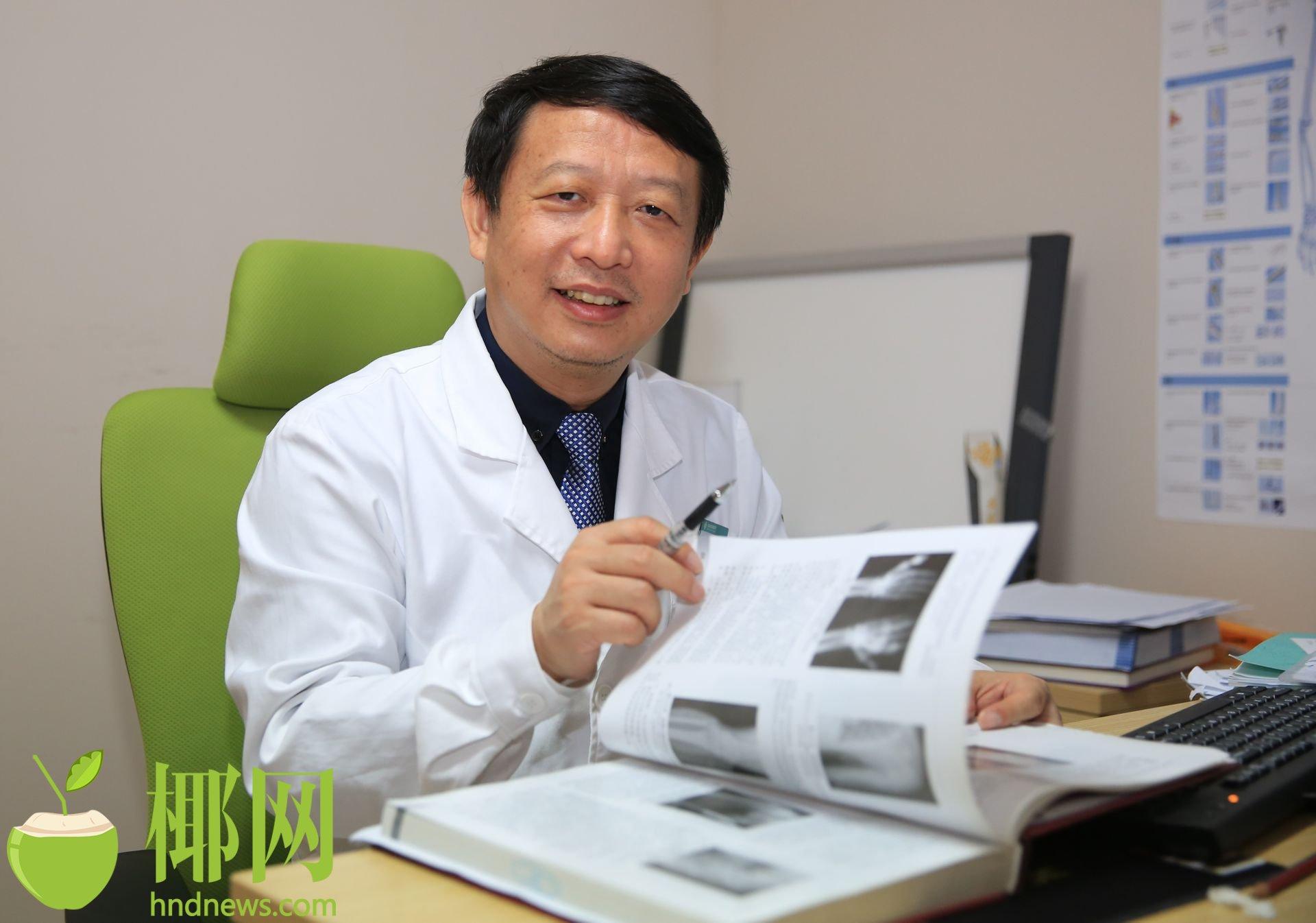 这样的黑痣要当心——访海南省肿瘤医院骨软外科主任陈煜