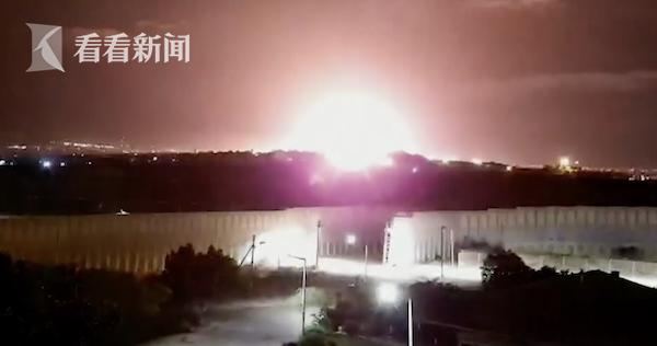 视频 以色列再次对加沙发起空袭 上个月刚签停火协议