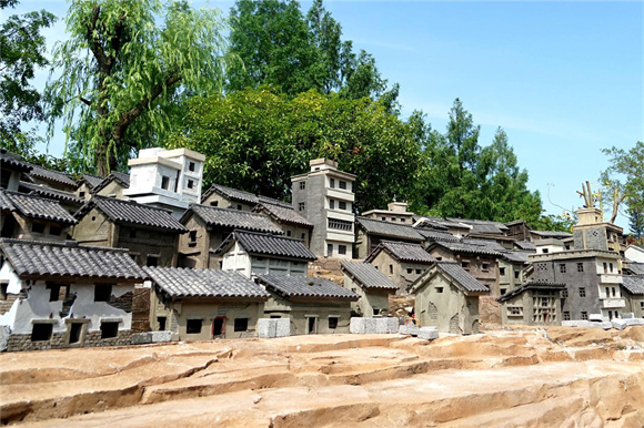 云阳滨江花园回水溪大变样 峡江文化微景观勾起淡淡乡愁