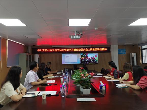 蝶变东晓丨东晓街道人大代表社区联络站开展党史学习教育