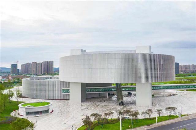 """南京江北新区这座展馆呈现""""最近的未来"""""""