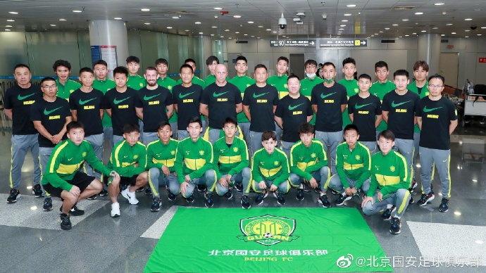 国安21人赴乌兹别克出征亚冠:平均年龄仅20.9岁,郭全博在列