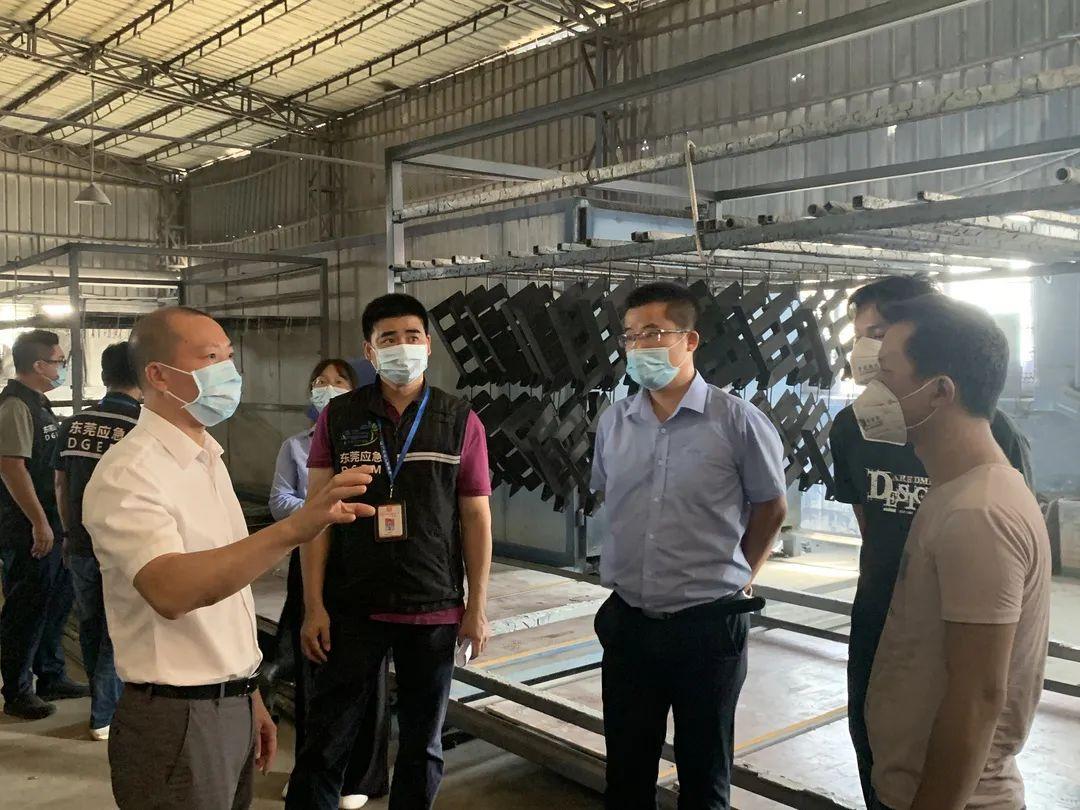 黄江开展安全生产大排查行动
