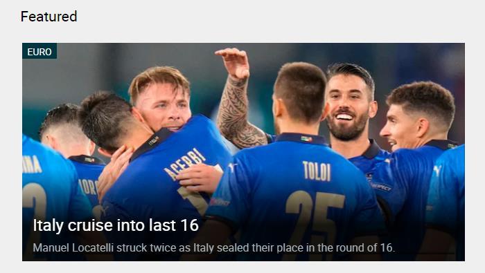 意大利队是夺冠热门?主帅曼奇尼谦虚地否认了