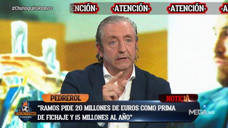六台:拉莫斯向一家大俱乐部索要2000万欧签字费+1500万欧年薪