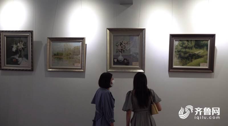 """""""庆祝中国共产党成立100周年""""潍坊市中小学教师书画展开展"""
