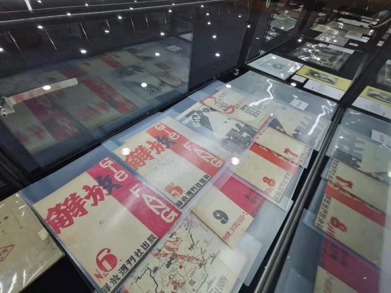 百件百物红色藏品展在潘家园拉开帷幕