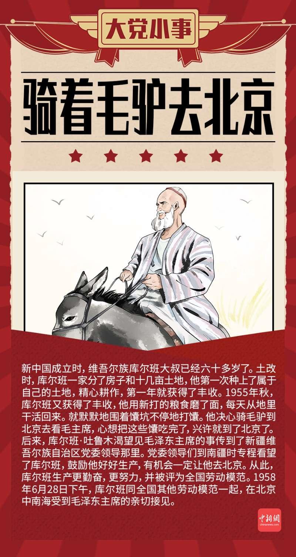 大党小事 骑毛驴去北京