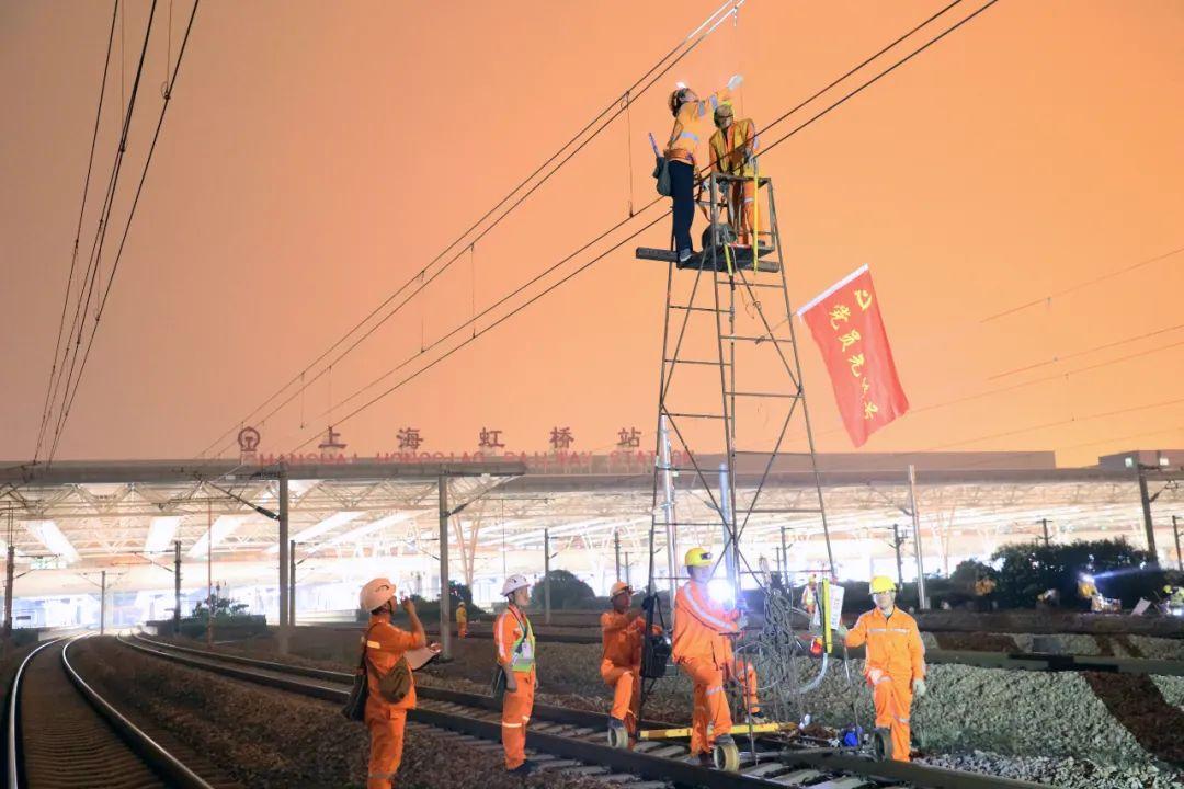 沪苏湖铁路顺利引入上海虹桥枢纽