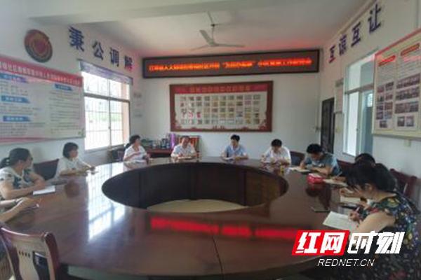 江华:黄志坚到春晓社区开展为民办实事