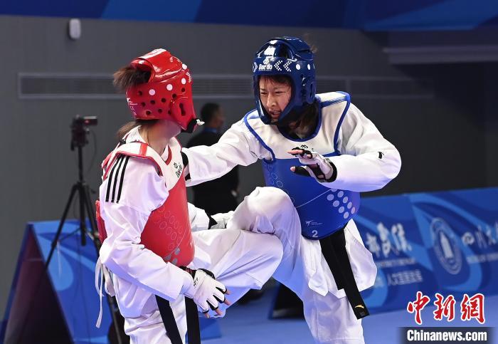 2021年中国大学生跆拳道锦标赛(竞技专业组)在蓉开赛