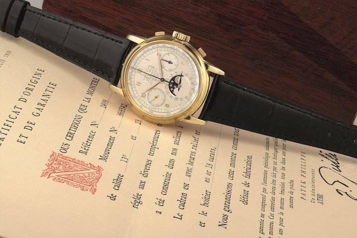 藏界 估价2300万,这枚1953年的百达翡丽将现香港拍场