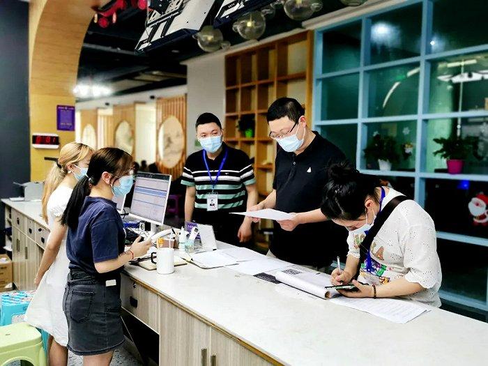 旺苍文化旅游体育局检查文化市场、旅游景区疫情防控和安全生产
