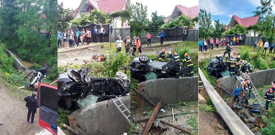 罗马尼亚一翻车事故致2人死亡 警方以过失杀人罪进行调查