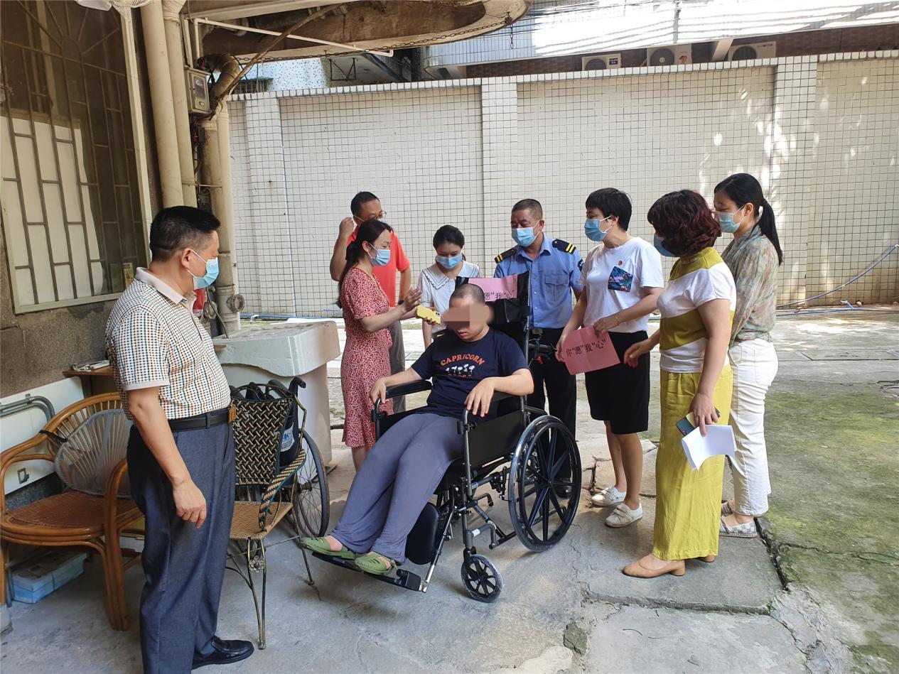 """微心愿丨轮椅、落地扇、油烟机……天河南街助他们""""圆梦"""""""
