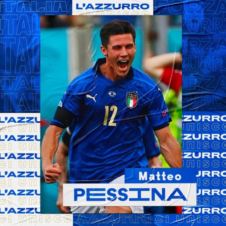 意大利球迷票选全场最佳,佩西纳击败维拉蒂、小基耶萨当选