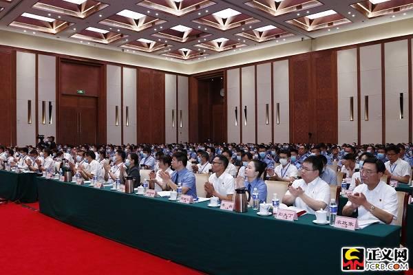 """追授彭庆文同志荣誉称号表彰大会侧记:""""祖国的需要就是我的选择"""""""