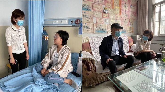 博兴县总工会走访困难职工