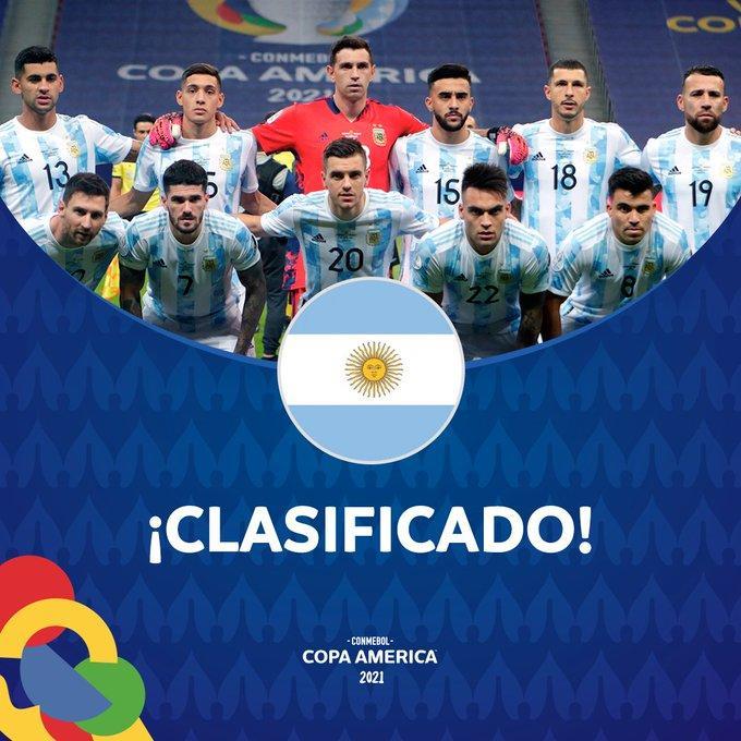 美洲杯出线形势:阿根廷、巴西、智利提前晋级