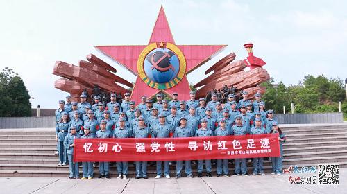 青山湖区城管局:走访红色故都 传承革命精神(图)