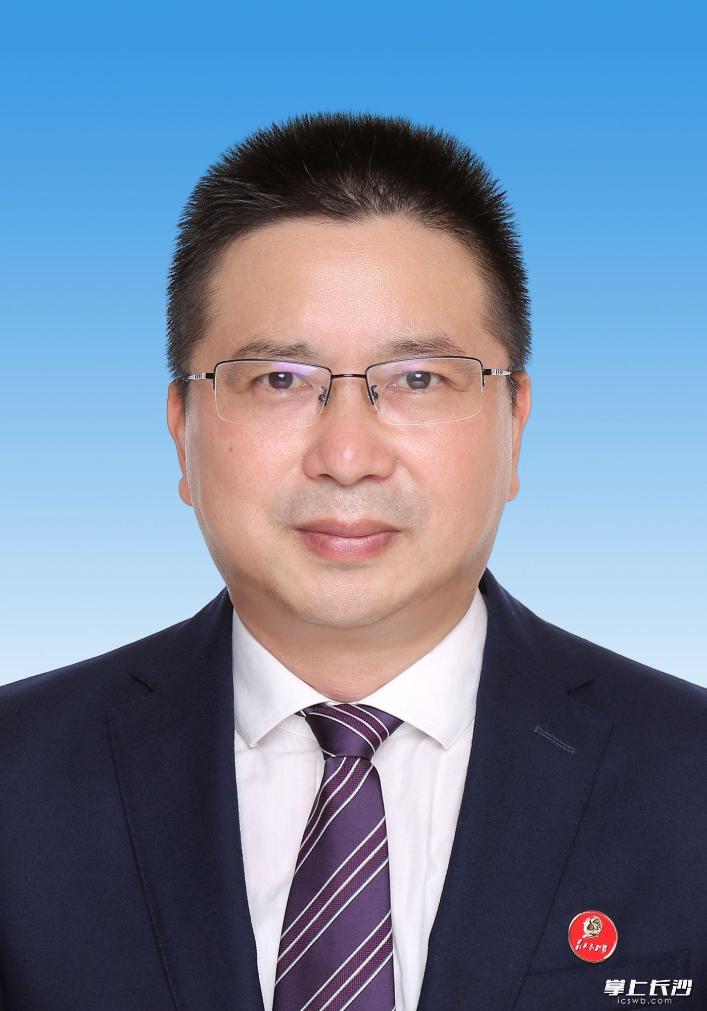 胡卫兵任长沙市监察委员会副主任、代理主任