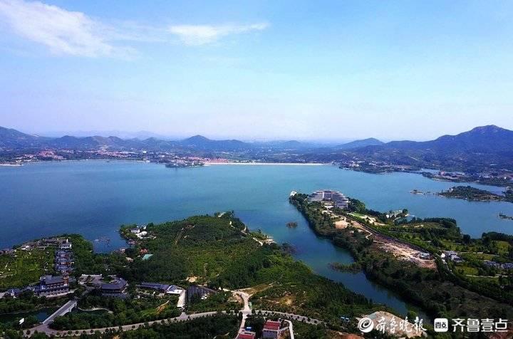 济南雪野湖烟波浩渺,夏日避暑好去处