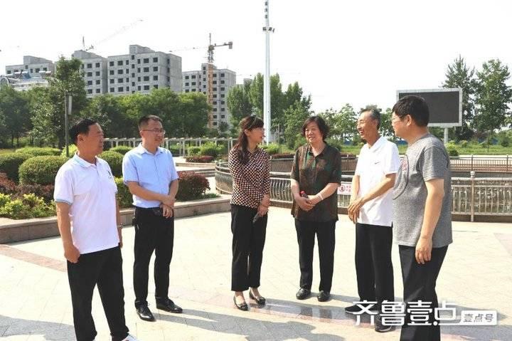 博兴县创建太极拳之乡现场观摩团到曹王镇观摩
