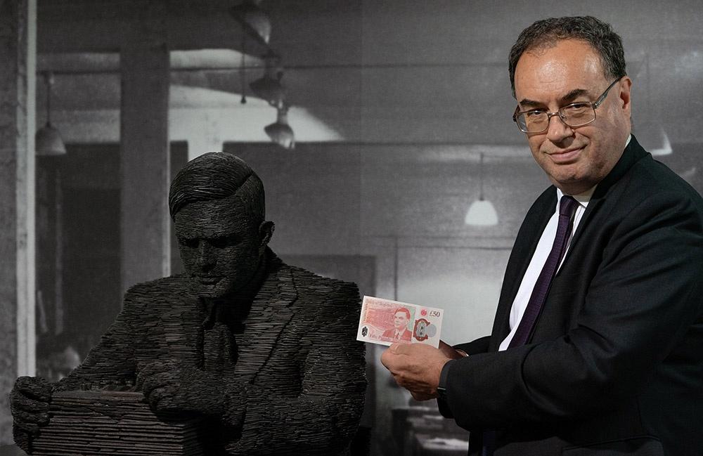 英国发行新版50英镑纸币:印有著名数学家图灵肖像