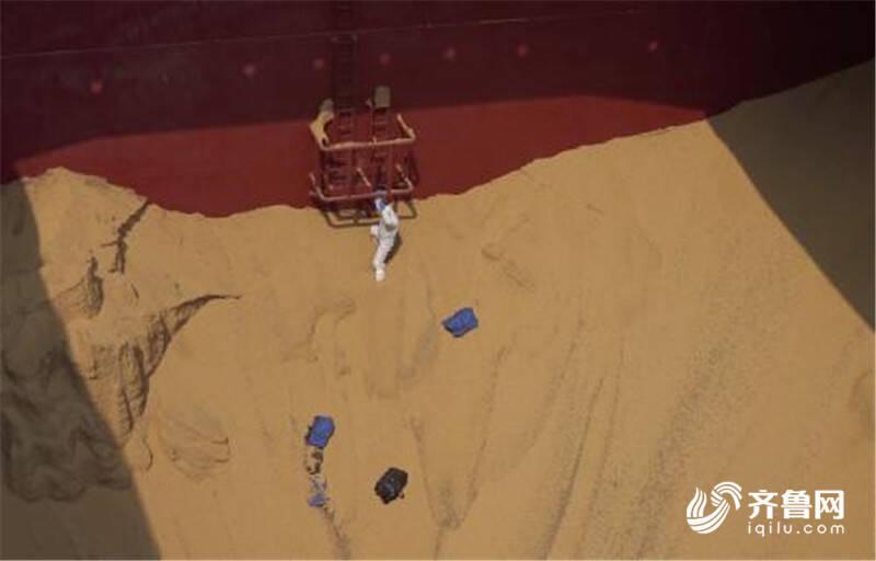 青岛海关联合青岛公安查获毒品可卡因215.37公斤