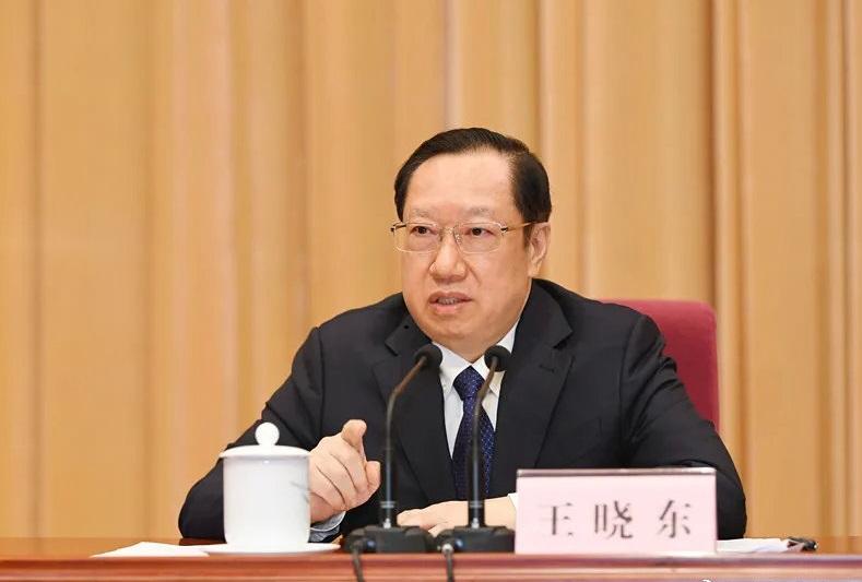 原湖北省长王晓东任全国政协农业和农村委员会副主任