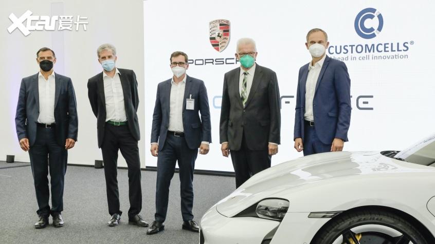 保时捷成立新公司 研发生产高性能电池-第1张图片-汽车笔记网