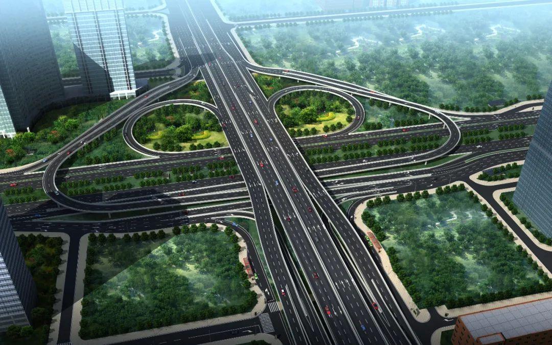 香蜜湖路主线桥及匝道部分开通,最新绕行方案看这里
