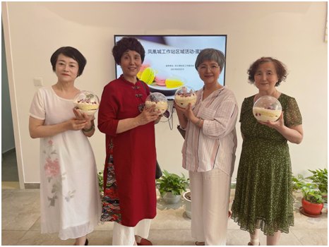 """苏州园区凤凰城工作站开展""""水晶球蛋糕DIY""""活动"""