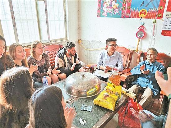 脱贫攻坚先进集体   广外驻蒲芦洲村扶贫工作队:脱贫生动样本获留学生点赞