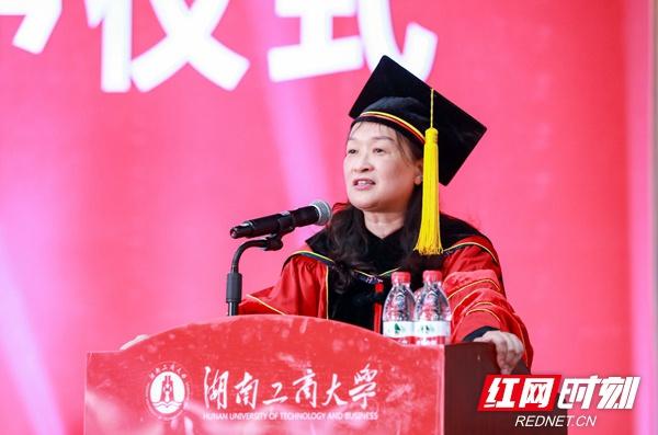 5913名宝藏男孩宝藏女孩毕业 陈晓红院士寄语:追寻梦想的光