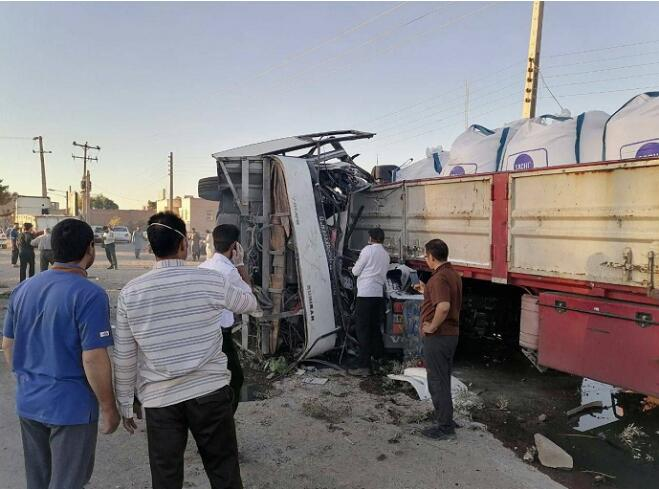伊朗亚兹德省发生交通事故 已致5死34伤