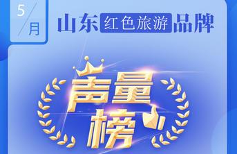 山东红色旅游品牌声量榜:台儿庄古城、沂蒙山、微山湖位列前三
