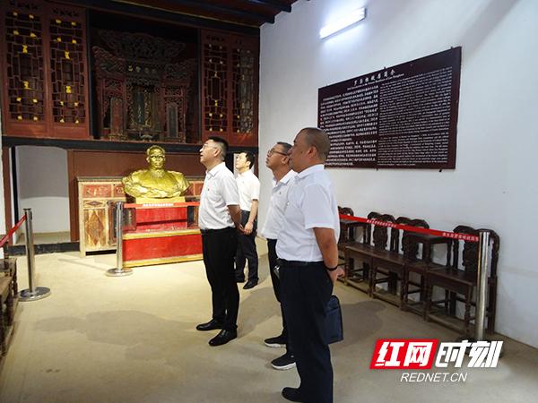 衡阳市市政工程公司机关党支部赴罗帅故里接受红色教育洗礼