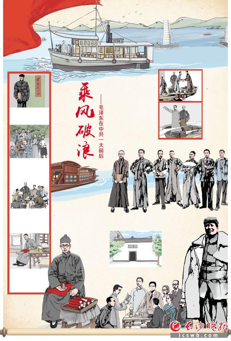 乘风破浪 ——毛泽东在中共一大前后