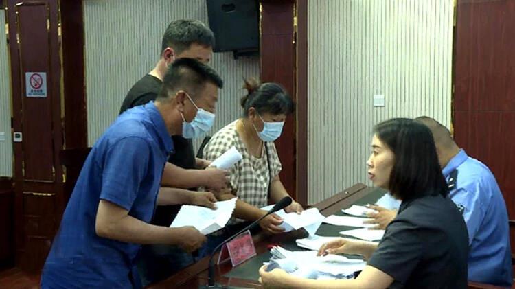 庆云县法院加大执行力度 为83名农民工集中兑付工资款97万余元