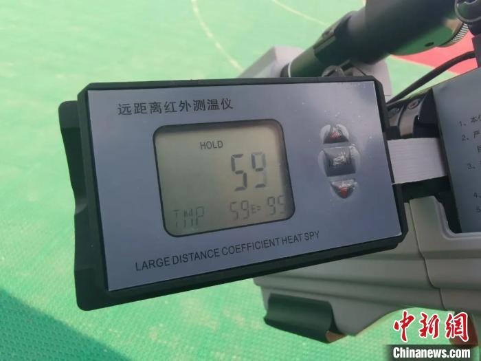 """贵州:高铁接触网检修工使用""""黑科技""""在铁道线上""""打靶"""""""