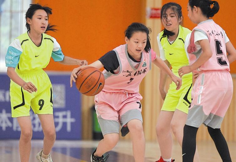 大连市小学生篮球联赛落幕