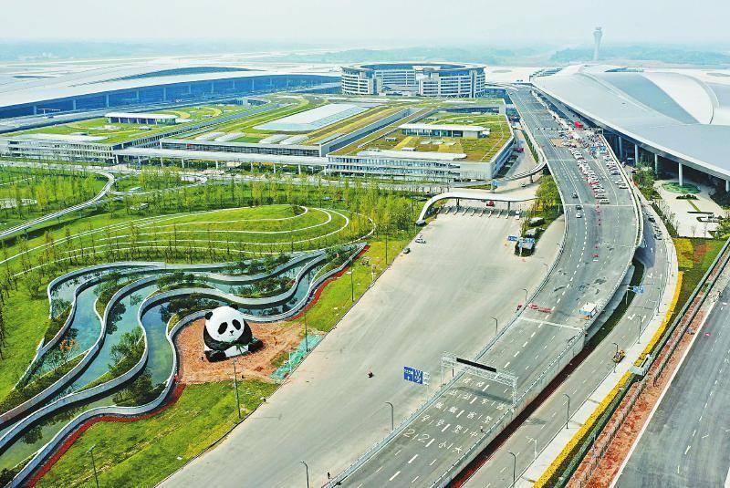 三星堆、大熊猫、青城山……成都天府国际机场到底藏了多少四川文化