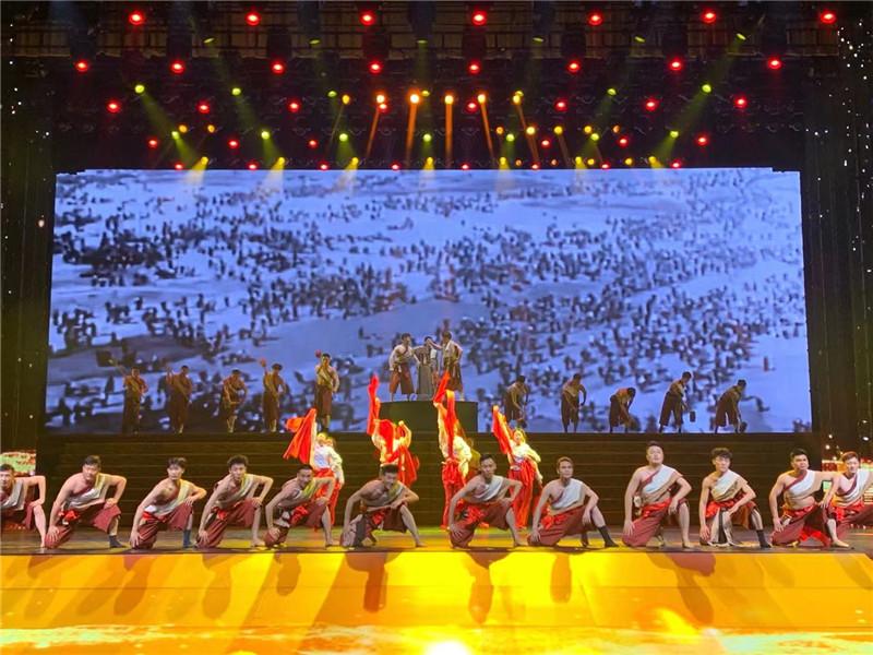 安徽省庆祝中国共产党成立100周年文艺演出举行第二次联排